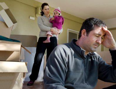 Le famiglie in difficoltà in Italia