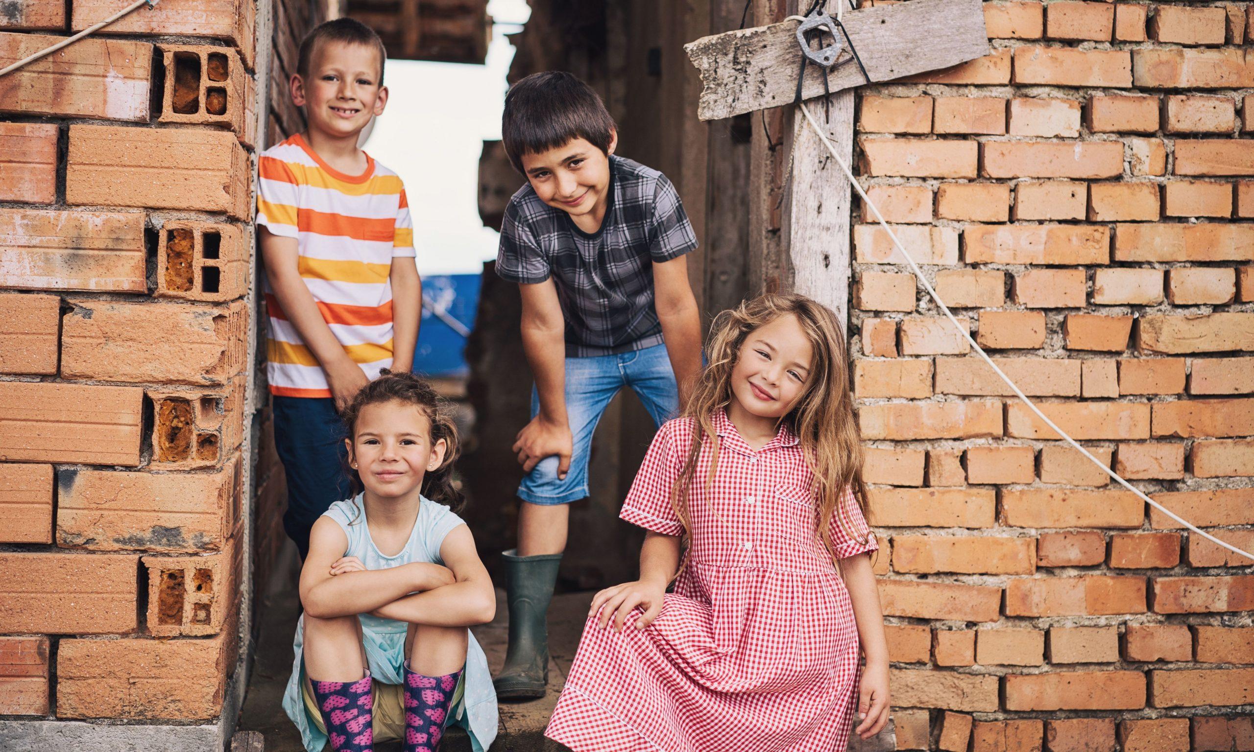 povertà tra i bambini
